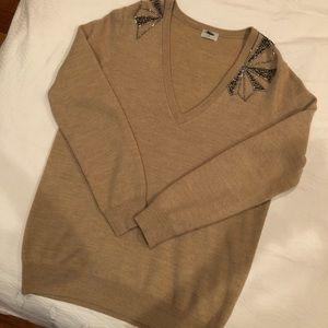 Wool Madewell v-neck sweater